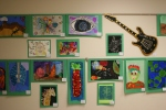 Student art, #80 wall of art withguitar