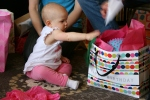 Birthday, #108 birthday gift bag withball