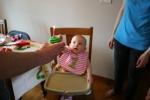 Birthday, #133 reaching forcupcake