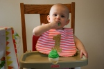 Birthday, #148 Izzy eatingcupcake