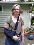 Audrey's injury