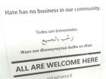 Hate has no business –Copy