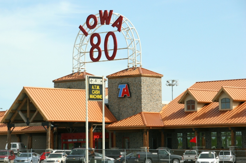 Iowa 80, the world's largest truck stop.