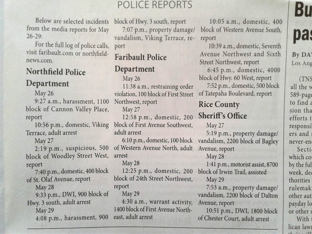 how to get a copy of a police report