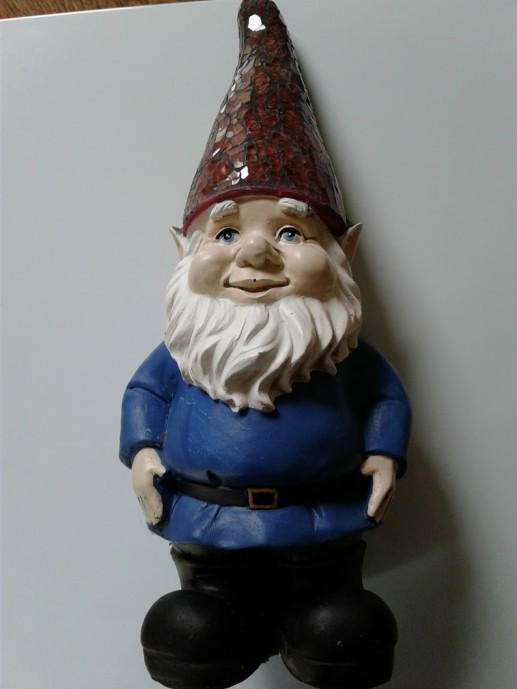 Among the gnomes I hid.