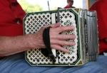 Art, #17 concertina playingclose-up