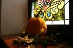 Church fest, #41 pumpkin & stainedglass