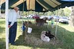 Church fest, petting zoo #152 man & girl viewinganimals