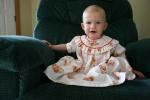 Strawberry Shortcake dress, #10 Izzy in reclinerportrait