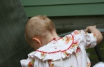 Strawberry Shortcake dress, #33 back ofclose-up