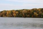 Autumn se Minnesota, #16 distant angler on KellyLake