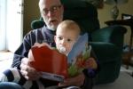 Books, #3 Grandpa reading toIzzy