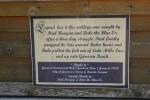 Mille Lacs Lake, #52 legend sign onwalleye