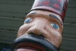 Nisswa, #143 Paul Bunyan carvingclose-up