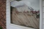 Steve's Meat Market, #97 artsy windowsign