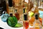 Antique shop, #77 perfumebottles