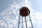 Pequot Lakes, water tower closeup#176