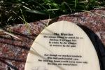 St. Jarlath Cemetery, #335 words on tombstoneplaque