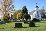 St. Jarlath Cemetery, #348 church &cemetery
