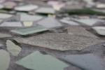 Barb Larson memorial, #21 plain greytile