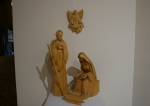 Nativity, #63 carved