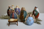 Nativity, #64 painted