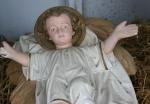 Nativity scene, #34 baby Jesus upclose