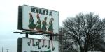 Rural southern Minnesota, #16 elf billboard in NewUlm