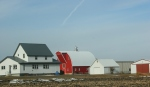Rural southern Minnesota, #27 farm site west ofSpringfield