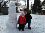 Izzy 6 by snowman withgrandpa