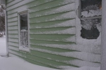 Snow, #12 side ofhouse