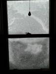 snow, kitchen window