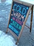Chapel Brewing beersign