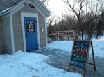 Chapel Brewing exterior withsign
