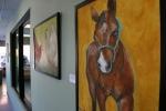 Farm animal portrait, #12 horse & hallway J.Fakler