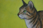 Farm animal portraits, #17 cat J.Fakler