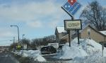 Snowy Faribault, #126 along FourthStreet