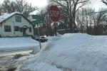 Snowy Faribault, #129 residentialintersection