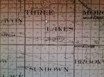 Three Lakes & Sundown townships map –Copy