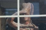 Misc from Sleepy Eye, #85 wooden chief inwindow