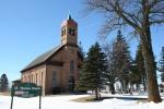 St. Thomas, #39 church &cemetery
