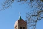 St. Thomas, #41 steeple &trees