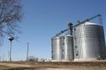 Funeral, #70 bins & water tower in Vesta,MN