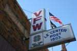 Le Center, #58 VFWsign