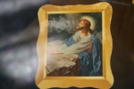 Trinity Radio Club, #78 Christ prayingprint