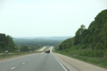 Wisconsin, #248 scenic view driving toward LaCrosse