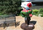 Botanical gardens, #127 Bucky Badgerstatue