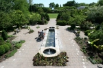 Botanical gardens, #142 overview of oblongpond
