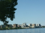 Madison, WI, #184 downtown skyline &lake