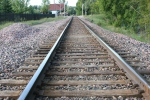 Art, #123 railroad tracks inFaribault